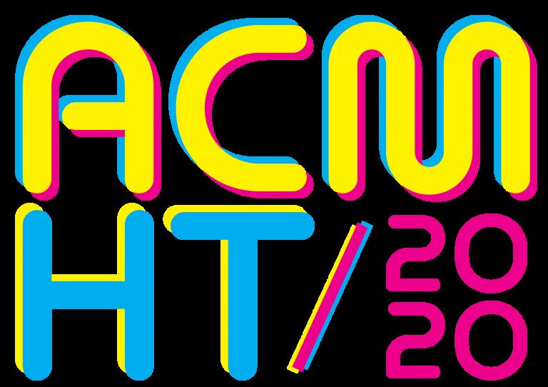 ACM HyperText 2020/HT 2020 (31st ACM Conference on Hypertext and Social Media)